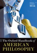 Cover for The Oxford Handbook of American Philosophy