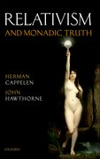 Cover for Relativism and Monadic Truth