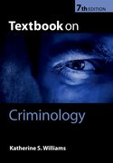 Cover for Textbook on Criminology