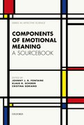 Components of emotional meaning A sourcebook