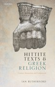 Cover for Hittite Texts and Greek Religion