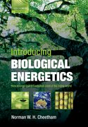 Cover for Introducing Biological Energetics