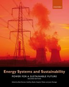 Cover for Energy Systems and Sustainability