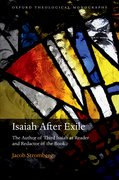 Cover for Isaiah After Exile