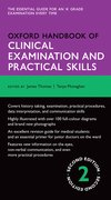 Cover for Oxford Handbook of Clinical Examination and Practical Skills