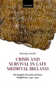 Cover for Crisis and Survival in Late Medieval Ireland