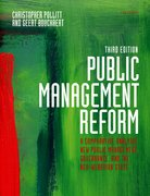 Cover for Public Management Reform