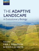 Cover for The Adaptive Landscape in Evolutionary Biology