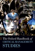 Cover for The Oxford Handbook of Critical Management Studies