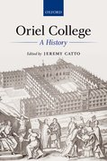 Cover for Oriel College