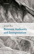 Cover for Between Authority and Interpretation