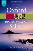 Cover for The Oxford Dictionary of Saints, Fifth Edition Revised