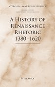 Cover for A History of Renaissance Rhetoric, 1380-1620