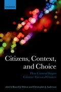 Cover for Citizens, Context, and Choice