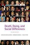 Cover for Death, Dying, and Social Differences