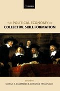 Cover for The Political Economy of Collective Skill Formation