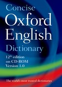 Concise Oxford English Dictionary CD-ROM edition, Windows/Mac Individual User Version 1.0