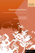 Interpreting Motion Grounded Representations for Spatial Language