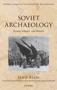 Cover for Soviet Archaeology