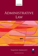 Endicott: Administrative Law 2e