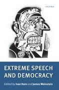 Cover for Extreme Speech and Democracy