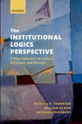 Cover for The Institutional Logics Perspective