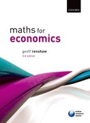 Renshaw: Maths for Economics 3e