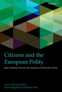 Cover for Citizens and the European Polity