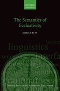 Cover for The Semantics of Evaluativity