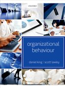 King & Lawley: Organizational Behaviour