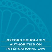 Cover for Oxford Scholarly Authorities on International Law - 9780199603114