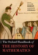 Cover for The Oxford Handbook of the History of Mathematics