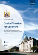 Cover for Capital Taxation for Solicitors