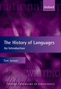 Cover for The History of Languages