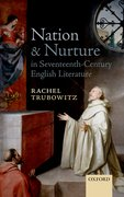 Cover for Nation and Nurture in Seventeenth-Century English Literature