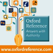 Cover for Oxford Reference