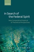 Cover for In Search of the Federal Spirit