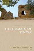 Cover for The Substance of Language Volume I: The Domain of Syntax
