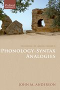 Cover for The Substance of Language Volume III: Phonology-Syntax Analogies