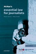 Hanna & Dodd: McNae's Essential Law for Journalists 21e