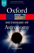 Cover for A Dictionary of Astronomy