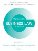 Cover for Business Law Concentrate