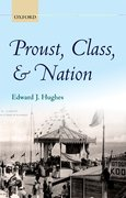 Cover for Proust, Class, and Nation