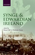 Cover for Synge and Edwardian Ireland