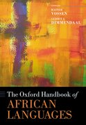 Cover for The Oxford Handbook of African Languages