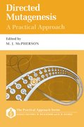 Cover for Directed Mutagenesis: A Practical Approach
