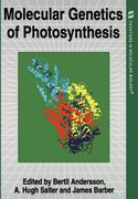 Cover for Molecular Genetics of Photosynthesis