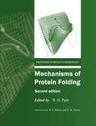 Cover for Mechanisms of Protein Folding