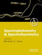 Cover for Spectrophotometry and Spectrofluorimetry