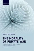 Cover for The Morality of Private War